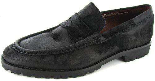 Donald J Pliner Mens Leron Vintage Suede Loafers US 15