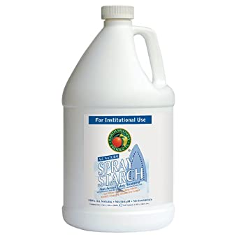 Earth Friendly Products Proline PL9757/04 Spray Starch Non-Aerosol Fabric Treatment, 1 gallon Bottles (Case of 4)