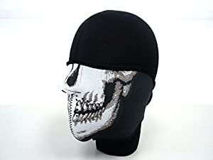 Airsoft Navy Seal Army Skull Neoprene Half Face Protector Mask