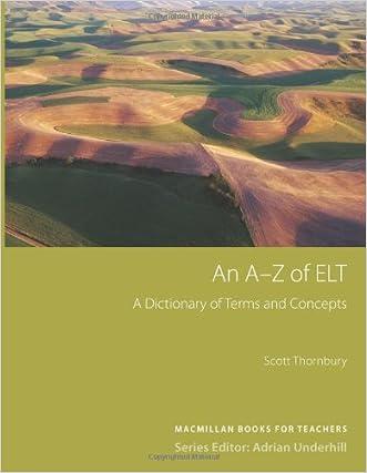 An A-Z of ELT written by Scott Thornbury