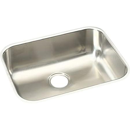 Elkay  EGUH2115 Gourmet Elumina Undermount Sink, Stainless Steel