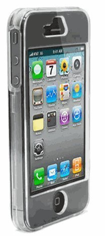 Clear Transparent Snap-On Cover Hard Case Cell Phone Protector for Apple Iphone 4G