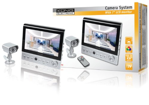 Konig 7 inch LCD Monitor with Camera