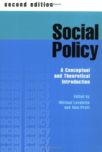 Social Policy: A Conceptual and Theoretical Introduction