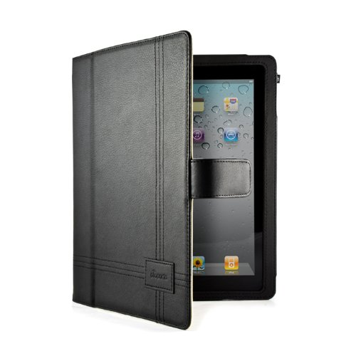 Proporta Leather Style Protective Case Cover/Sleeve/Skin for the Apple iPad 2 Gen 2nd Generation - Black