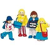 """Toys Pure 51932 - Muñecos articulados diseño """"Vacaciones"""" [Importado de Alemania]"""