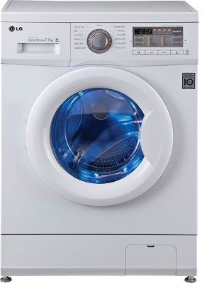 LG F10B8EDP2 Fully-automatic Front-loading Washing Machine (7.5 Kg, Blue and White )