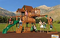 Big Sale Best Cheap Deals Skyfort All-Cedar Play Set