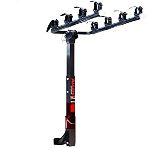 Allen Deluxe 4-bike Hitch Mount Rack 2-inch Receiver