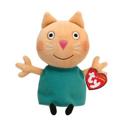 TY Beanie Baby - CANDY CAT (UK Exclusive - Peppa Pig) - 1