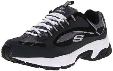 Skechers Sport Men's Stamina Nuovo Sneaker,Navy/Black,6.5 M US
