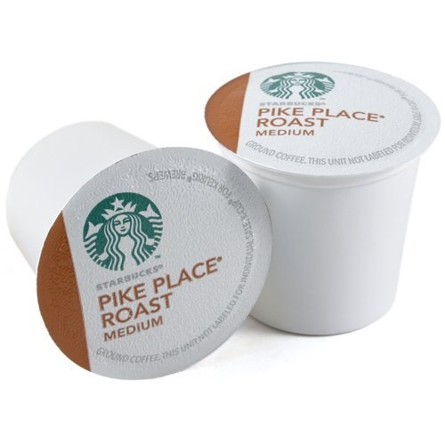 Starbucks Pike Place Roast, K-Cup Portion Pack For Keurig Brewers, 24 Count front-566470