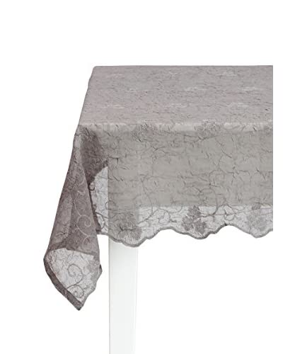 Lene Bjerre Petrea 71 x 126 Grey Tablecloth