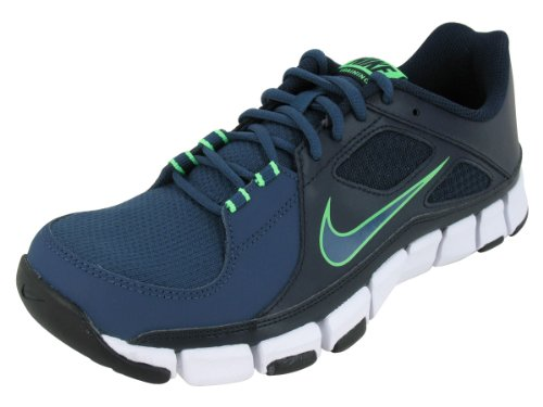 Nike Men's NIKE FLEX SHOW TR TRAINING SHOES 12 Men US (DRK OBSDN/SQDRN BL/WHITE/BLK) Nike Flex
