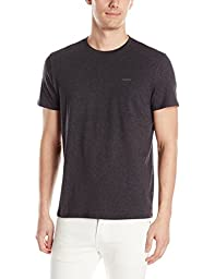 Calvin Klein Men\'s Short Sleeve Pima Cotton T-Shirt, Gunmetal Heather, X-Large