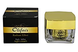 OLIFAIR PEARLS SAFFRON NIGHT CREAM