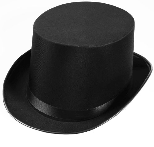 Forum Novelties Men's Deluxe Adult Satin Top Hat Costume Accessory
