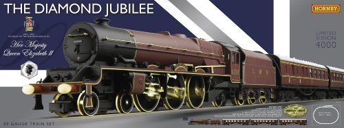 Hornby R1170 The Diamond Jubilee 00 Gauge Limited Edition Electric Train Set