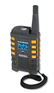 Taylor NOAA 7 Channel Portable Radio and Flashlight