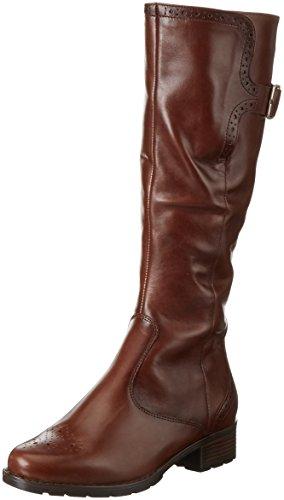araLiverpool-St - Stivali alti con imbottitura leggera Donna , Marrone (Braun (Marrone 75)), 41.5 EU