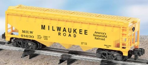 AF 6-48630 Milwaukee Road 3-Bay Covered Hopper