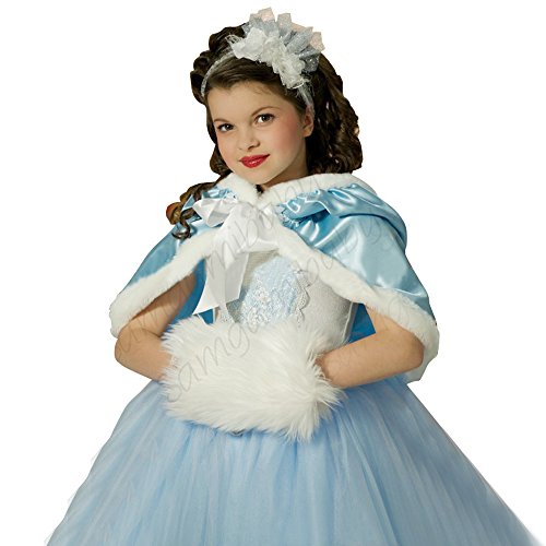 Frozen Elsa Anna Costume Halloween Princess Girls Child Fancy Outfit Long Dress