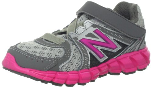 New Balance Kv750 I Running Shoe (Infant/Toddler),Silver/Pink,9.5 M Us Toddler