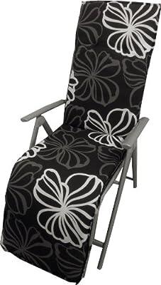 beo Relaxauflage RE M125, silber von beo auf Gartenmöbel von Du und Dein Garten