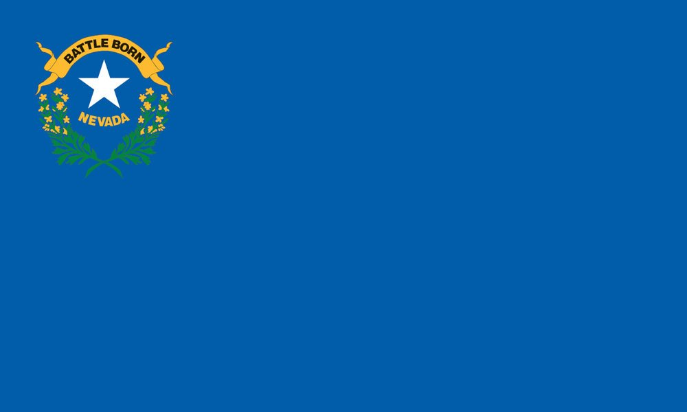 Nevada State Flag Coloring Pages