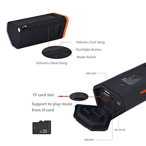 KMASHI-SP912-Wireless-Speaker-(With-5000mAh-Power-Bank)