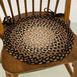Stallion 15 Braided Chair Pad Braided Rugs