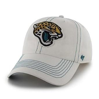 NFL Jacksonville Jaguars Mens Ketch Cap, One Size, White by