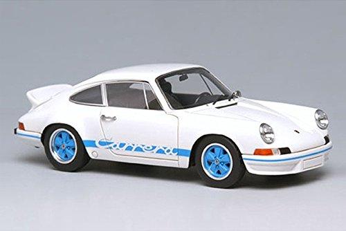 VISION 1/43 Porsche 911 Carrera RS 2.7 1973 ホワイト/ブルーストライプ