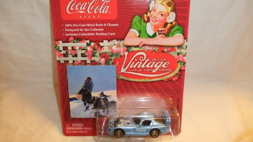 JOHNNY LIGHTNING COCA-COLA VINTAGE COLLECTOR'S EDITION 1999 DODGE VIPER GTS DIE-CAST COLLECTIBLE