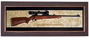 Rifle Display Case - Wall Mounted Classic Display Case Series - Factory Direct! by Home Display Cases Gun Display Experts