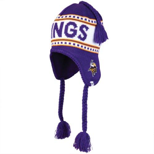 Nfl Minnesota Vikings Men'S Montreux Knit Cap, One Size, Purple front-975923