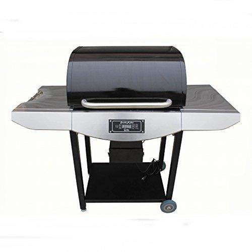 Smoke-N-Hot Pellet Grill Pro, Stainless Steel