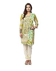 Yepme Anaya Semi Stitched Pakistani Suit - Green -- YPMRTS0292_Free Size