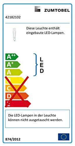 Zumtobel lumière lED éclairage de secours rESCLITE c#42182102 eSCAPE s mET lED éclairage de secours 9008709649279 nT1