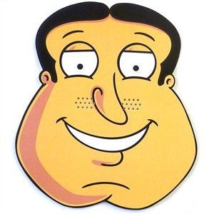 Official Family Guy Mask - Quagmire - 1