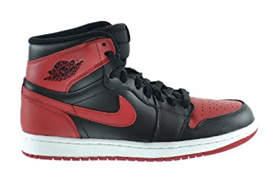 Buy Air Jordan 1 Retro High OG Mens Basketball Shoes Black Varsity Red-White 555088-023 by Jordan
