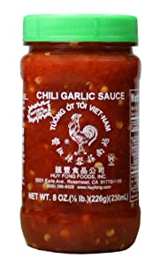 Huy Fong Chili Garlic Sauce 8-ounce Jars Pack Of 24 by Huy Fong