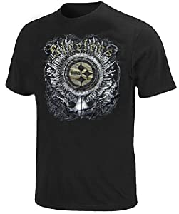 Pittsburgh Steelers Slim Fit Supremacy Strategy T Shirt By Team Apparel