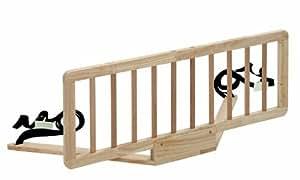 Safety 1st 24030100 - Quiet Night Bettgitter aus Holz, natural