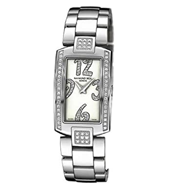Raymond Weil Women's Quartz Watch with Mother of Pearl Dial Analogue Display and Silver Stainless Steel Bracelet 1800-ST2-05383
