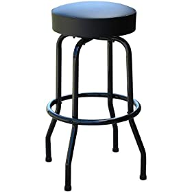 Black Frame Restaurant Bar Stool - Made in USA