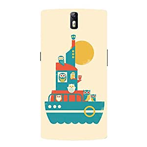 Back cover for OnePlus One Owl ship