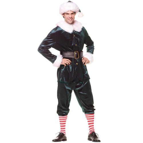 Elf Costume - One Size - Chest Size 42-46
