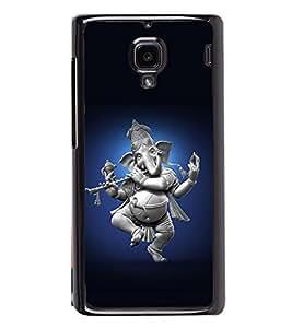 printtech Lord God Ganesha Dancing Back Case Cover for Xiaomi Redmi 1S , Xiaomi Redmi (1st Gen)