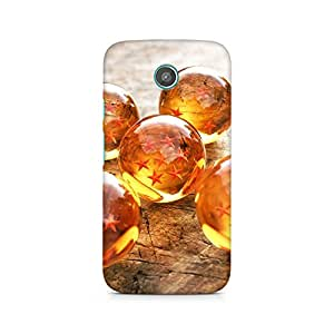 Mobicture Star Glass Balls Premium Printed Case For Moto G